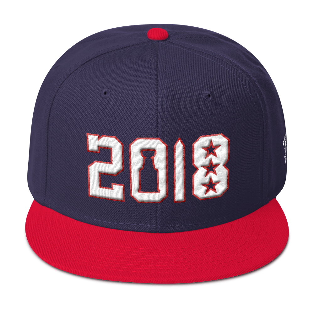 58730ac3152 2018 District s Cup Snapback Hat