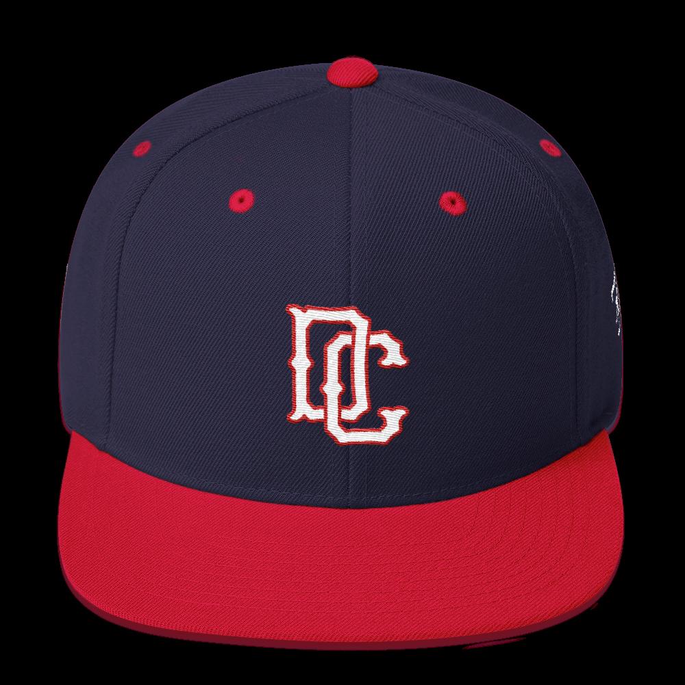 Vintage DC Snapback Hat  170cab6e122